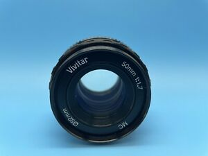 Vivitar 50mm 1:1.7 F1.7  Lens