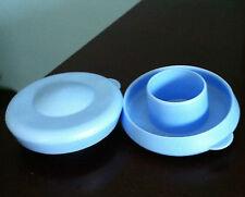 Water Bottle Blue Dew Cap Snap On 55mm  Drinking Jug Tops  Bag of  2