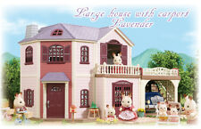 Sylvanian Families LAVENDER HOUSE WITH CARPORT Limited to Japan Calico Critters