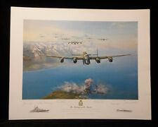 THE SINKING OF THE TIRPITZ by Frank Wootton ,L.Edit,Signed,Print