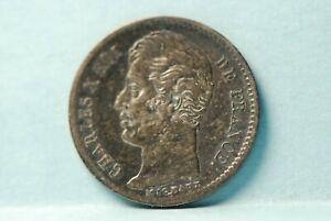 France, 1828-A 1/4 Franc, silver, KM722.1, UNC, toning,                    6-13
