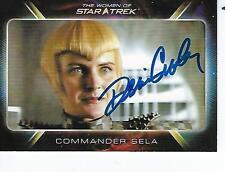 DENISE CROSBY SIGNED 2010 WOMEN OF STAR TREK #52 - COMMANDER SELA