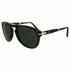 dd6cf824c2 Persol 714 Folding Sunglasses 24 31 Havana Brown   Grey Green Po0714 52 Mm