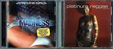 Dancehall Madness by Various Artists (CD) & Platinum Reggae, Vol. 3 by V.A.(CD)
