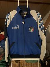 Chaqueta Futbol Italia 1992 Diadora Vintage Maglia Calcio