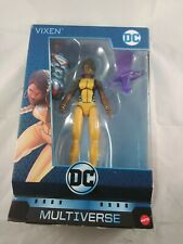 MIB DC Multiverse Vixen 6? Action Figure Collect & Connect Lex Luthor BAF Mattel
