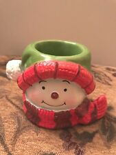 Yankee Candle Snowman Head Votive Holder #1300006