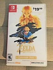 Legend of Zelda Breath of the Wild Expansion Pass Display Switch Promo Case!