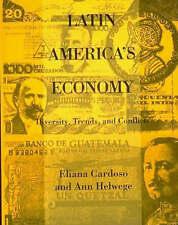 Latin Americas Economy: Diversity, Trends and Conflicts, Cardoso, Eliana, Used;