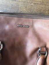 Miu Miu  Leather Bow Satchel Bag