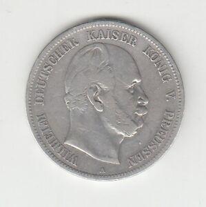 Preußen  5 Mark  1974  Kaiser Wilhelm I-   Sehr Schön - Schön
