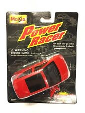 "Maisto Mercedes-Benz A140 4"" Model Car Red Power Racer Die Cast 1996 NEW Sealed"