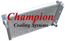 NEW Champion EC718 Radiator 2 Row All Aluminum fits 77-82 Chevrolet Corvette