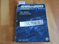 SEA DOO Sportster 200 Shop Service Manual