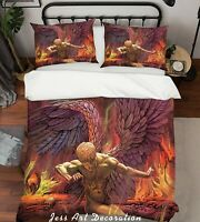 3D Judas Priest Rock Band Quilt Cover Set Pillowcases Duvet Cover 3pcs Bedding