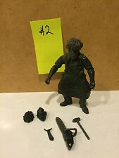MEZCO CINEMA OF FEAR TEXAS CHAINSAW MASSACRE LEATHERFACE 3.75 INCH PROTOTYPE #2