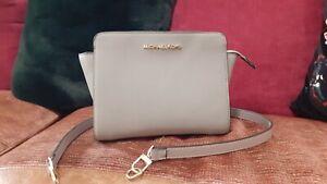 Michael Kors Grey Medium Selma Bag