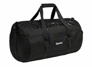 Supreme Duffle Bag Black SS21 Supreme New York 2021 Brand New SS21B10 New DS