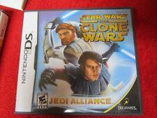 Star Wars: The Clone Wars -- Jedi Alliance (Nintendo DS, DSI, 2DS, 3DS) action