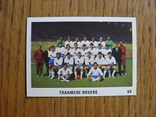 1970/1971 The Sun Football Swap Card: 066 - Tranmere Rovers - Team Group Image (
