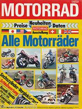 Motorrad 19 79 Fecht Moto Guzzi 850 T3 Maico MD 250 wk Puch M 50 Jet Z 1300 1979