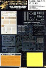 132095 HGW SUPER Detail set - RUMPLER C.IV 1:32