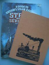 2 Bücher Railways 1963 + Steam into the Seventies 1976 Eisenbahn