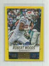 2014 Panini Hot Rookies  ROBERT WOODS  Gold Zone  12/50