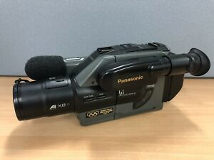 Panasonic NV-G1B VHS-C Video Camera c.1992 Vintage Camcorder FOR PARTS ONLY