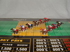 CUSTOM 10 PIECE FIGURES FOR THE VINTAGE APBA AMERICAN SADDLE HORSE RACING GAME