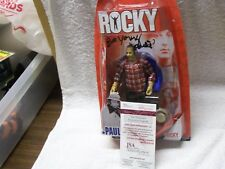 Burt Young Rocky signed Action Figure JSA