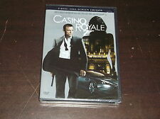 CASINO ROYALE 007 2 DISC FULL SCREEN EDITION DVD MOVIE NEW SEALED JAMES BOND