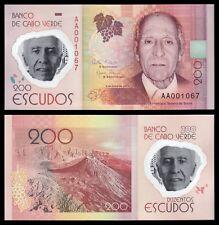 Cabo Verde - Cape Verde 200 Escudos  5-7-2014  Pick 71   SC = UNC