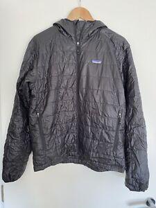 Patagonia Black Nano Puff Primaloft Belay Jacket Small Medium 38/40 Inch