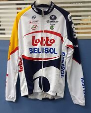 Vermarc Lotto Belisol Team Graphics LS Long Sleeve Men's Cycling Jersey Size XL