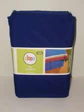 "Circo Basic Solid Blue Full Size Polyester Bed Skirt Nip 14"" Drop Target Kids"