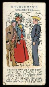 Tobacco Card, Churchman, PHIL MAY SKETCHES, 1912, #40