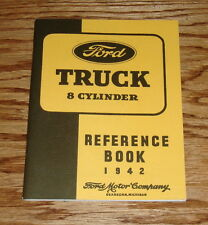 1942 Ford Truck 8 Cylinder Reference Book Owners Operators Manual 42