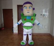 Buzz Lightyear Mascot Cosplay Costumes Halloween Suit Fancy Dress Adult Unisex