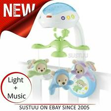 Fisher-Price Butterfly 3 in 1 Projector Mobile¦Baby's Musical Stroller/Table Toy