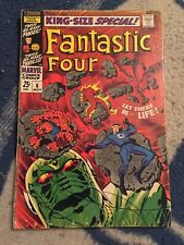 FANTASTIC FOUR ANNUAL #6 1ST ANNIHILUS & FRANKLIN RICHARDS MOVIE RUMORS  KEY