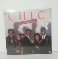 """Chic """"Real People"""" 1980s R&B 12"""" LP 33 RPM VG+ Atlantic SD 16016 Factory Sealed"""