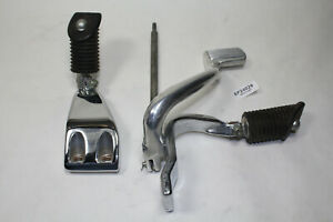 Dyna mid foot controls mounts + brake pedal + linkage Harley FXD FXDL EPS24029