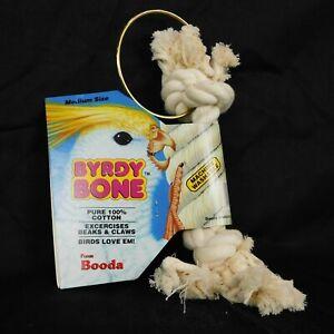 Byrdy Bone Rope Toy Parrot Booda Cotton Washable Medium
