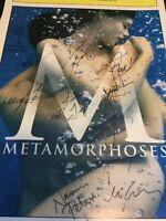 Metamorphoses Playbill Cover Signed Autograph Tony Award Winning Cast Play M