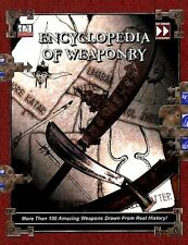 ENCYCLOPEDIA OF WEAPONRY VF! Dungeons Dragons D&D Fast Forward Entertainment