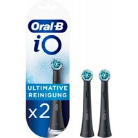 Oral-B iO Ultimative Reinigung (2er) Zahnbürstenkopf schwarz Ersatzbürste