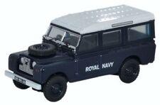 British Royal Navy Land Rover Series Ii Suv Oo Oxford Die-cast 76Lan2015
