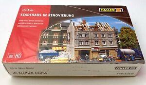 Faller 130456 HO Immeuble en rénovation chantier OVP NEU boîte neuve SOUS film