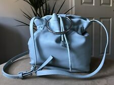 Marks & Spencer Collection light blue small bucket shoulder cross body bag